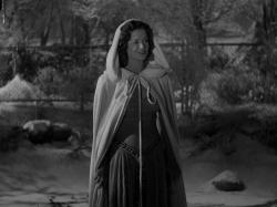 Simone Simon in Curse of the Cat People.