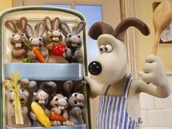 Gromit in Wallace and Gromit: The Curse of the Were-Rabbit.