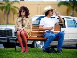 Jared Leto and Matthew McConaughey in Dallas Buyers Club.