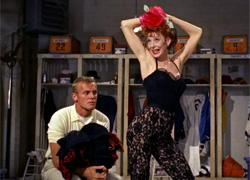 Tab Hunter and Gwen Verdon in Damn Yankees.