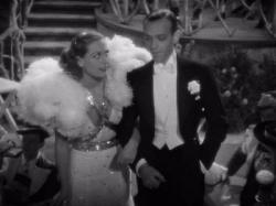 Joan Crawford provides Fred Astaire with his first screen dance partner in Dancing Lady.