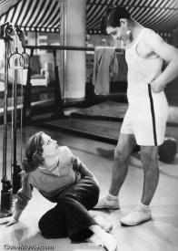 Joan Crawford and Clark Gable in Dancing Lady.