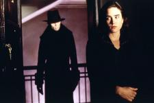 Richard O'Brien and Jennifer Connelly in Dark City.