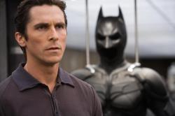 Christian Bale in Dark Knight.