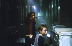 Emma Caulfield in Darkness Falls.