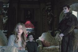 Chloe Grace Moretz, Gulliver McGrath and Johnny Depp in Dark Shadows