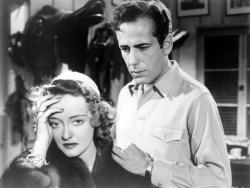 Bette Davis and Humphrey Bogart in Dark Victory.