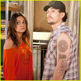Mila Kunis and James Franco as Whippit and Taste have the funniest scene.