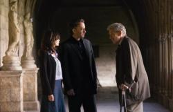 Audrey Tautou, Tom Hanks and Ian McKellen in The Da Vinci Code.