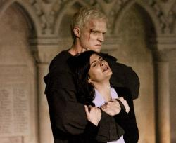 Paul Bettany and Audrey Tautou in The Da Vinci Code.
