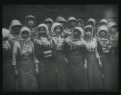 Hard working women above the coal mines.