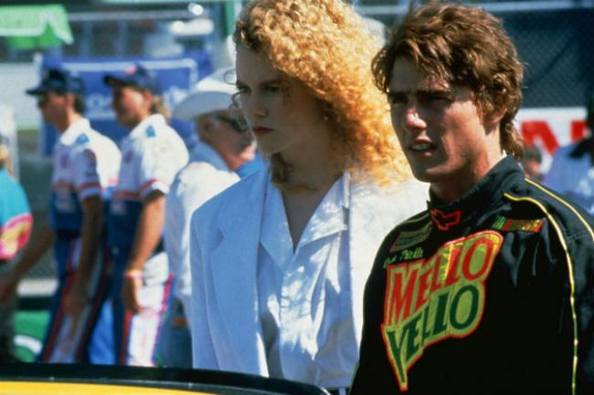 Nicole Kidman and Tom Cruise in Days of Thunder