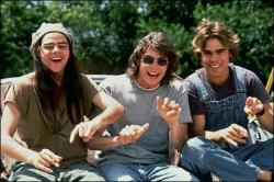 Rory Cochrane, Jason London and Shawn Andrews in Dazed and Confused