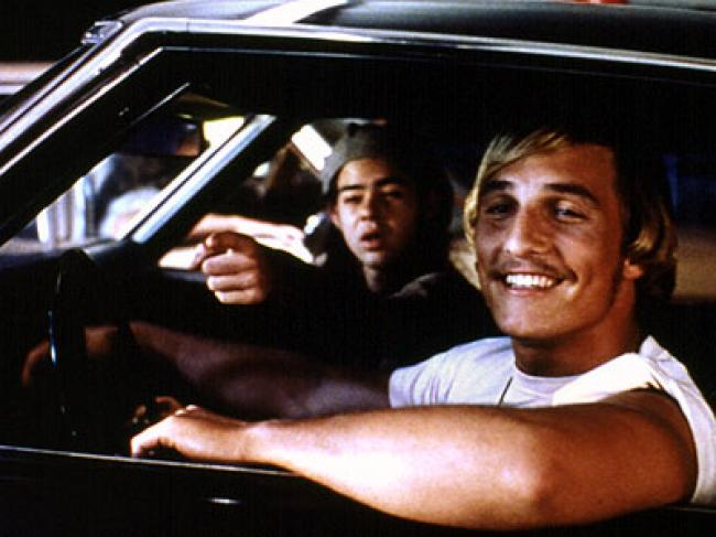Matthew McConaughey in Dazed and Confused.