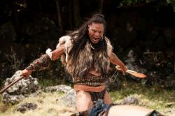 Lawrence Makoare in The Dead Lands.