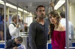Colin Farrell and Noomi Rapace in Dead Man Down