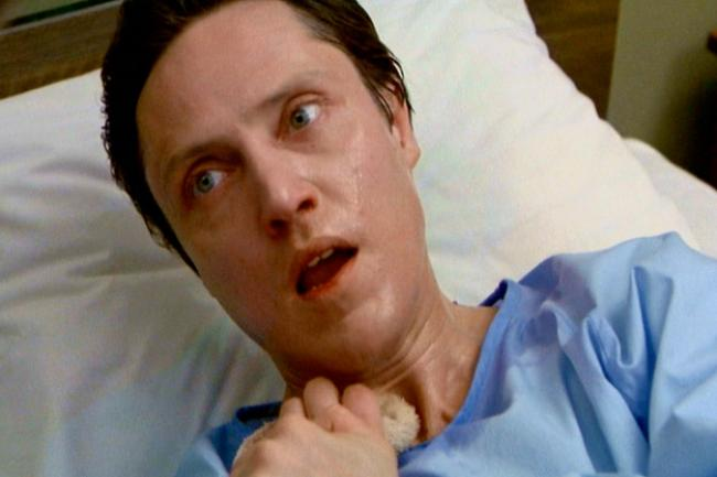 Christopher Walken has a vision in The Dead Zone.