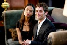 Zoe Saldana and James Marsden.