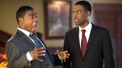 Tracy Morgan and Chris Rock in Death at a Funeral.
