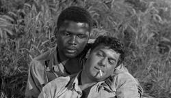 Sidney Poitier and Tony Curtis in The Defiant Ones