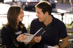 Rachel Weisz and Ryan Reynolds in Definitely Maybe.