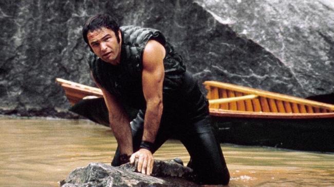 Burt Reynolds in Deliverance.