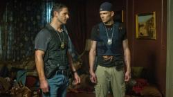 Eric Bana and Joel McHale in Deliver Us from Evil.