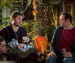 Chris Pratt and Vince Vaugh in The Delivery Man