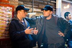 Matt Damon and Leonardo DiCaprio in The Departed.