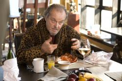 Jack Nicholson in The Departed.