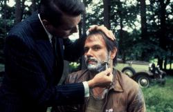 Dirk Bogarde shaves Klaus Lowitsch in Despair.