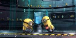 Gru's little yellow minions.