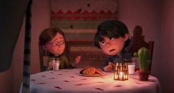 Margo and Antonio in Despicable Me 2.