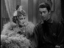 Marlene Dietrich and James Stewart in Destry Rides Again.