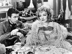 James Stewart and Marlene Dietrich in Destry Rides Again.