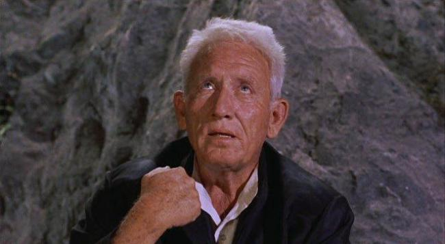 Spencer Tracy in The Devil at 4 O'Clock