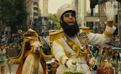 Sacha Baron Cohen in The Dictator.