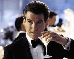 Pierce Brosnan in Die Another Day.