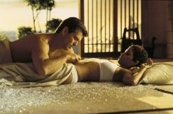 Pierce Brosnan and Halle Berry in Die Another Day.