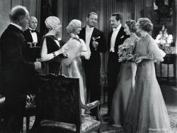 The all-star cast of Dinner at Eight.