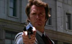 Clint Eastwood is Dirty Harry.
