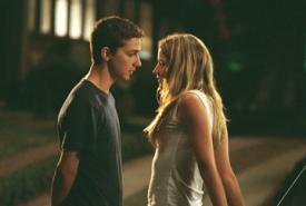 Shia LaBeouf  and Sarah Roemer in DreamWorks Pictures' Disturbia.