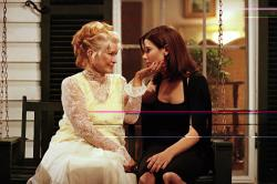 Ellen Burstyn and Sandra Bullock in The Divine Secrets of the Ya-Ya Sisterhood.