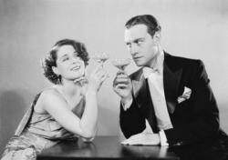 Norma Shearer and Conrad Nagel in The Divorcee
