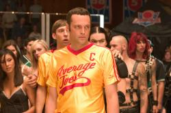Vince Vaughn in Dodgeball: A True Underdog Story.