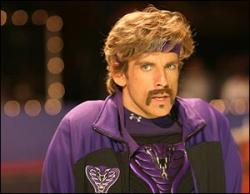 Ben Stiller in Dodgeball: A True Underdog Story.