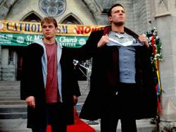 Matt Damon and Ben Affleck in Dogma.