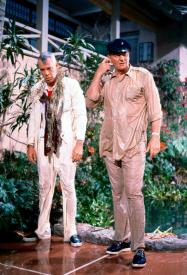 Lee Marvin and John Wayne in Donovan's Reef.