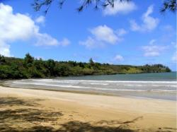 Hanamaulu Beach, where Lee Marvin came ashore in Donovan's Reef