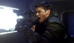 Karl Urban  as Reaper in Doom.